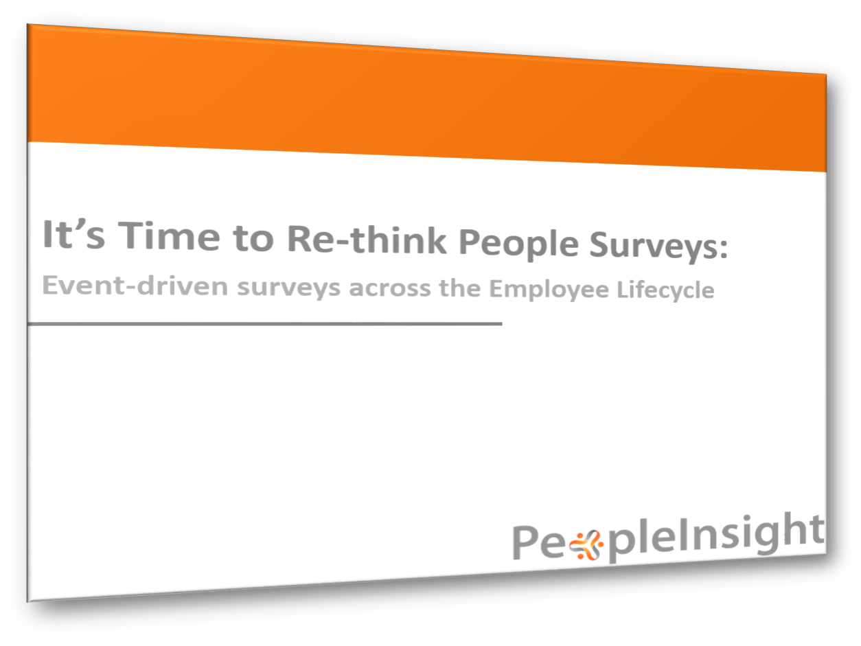 Ebook Time to Re-think People Surveys