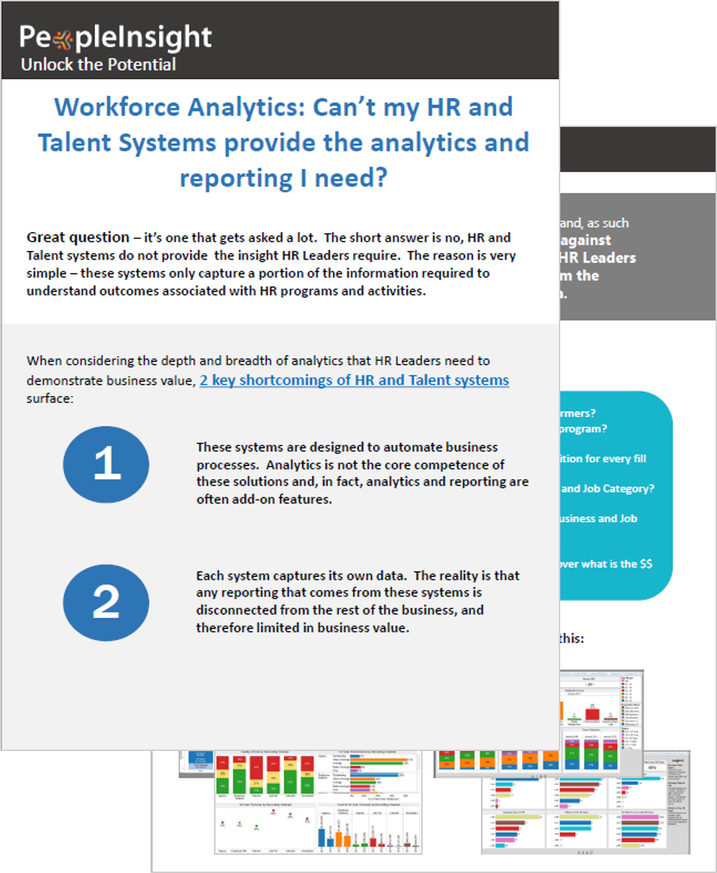 HRIS Analytics and Reporting Shortfalls