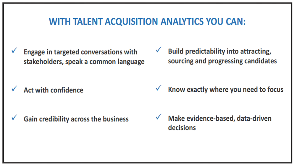 Benefits of Recruitment Analytics