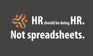 HR doing HR Not Spreadsheets